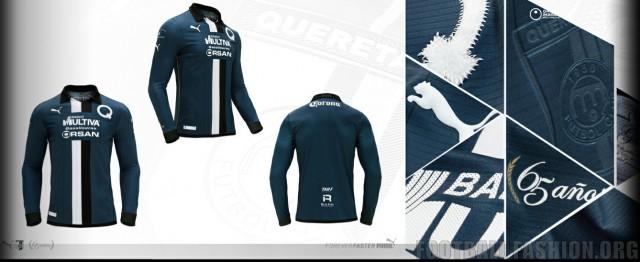 Querétaro FC 65th Anniversary PUMA Soccer Jersey, Football Kit, Shirt, Camiseta, Equipacion