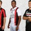 OGC Nice 2015 2016 Burrda Home, Away and Third Football Kit, Soccer Jersey, Shirt, Maillot