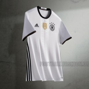 Germany EURO 2016 adidas White Home Soccer Jersey, Football Kit, Shirt, Trikot, Heimtrikot EM