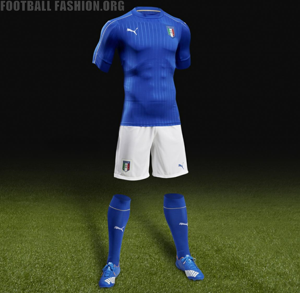 Italy euro 2016 puma home kit inspired by pride passion for Italian kit
