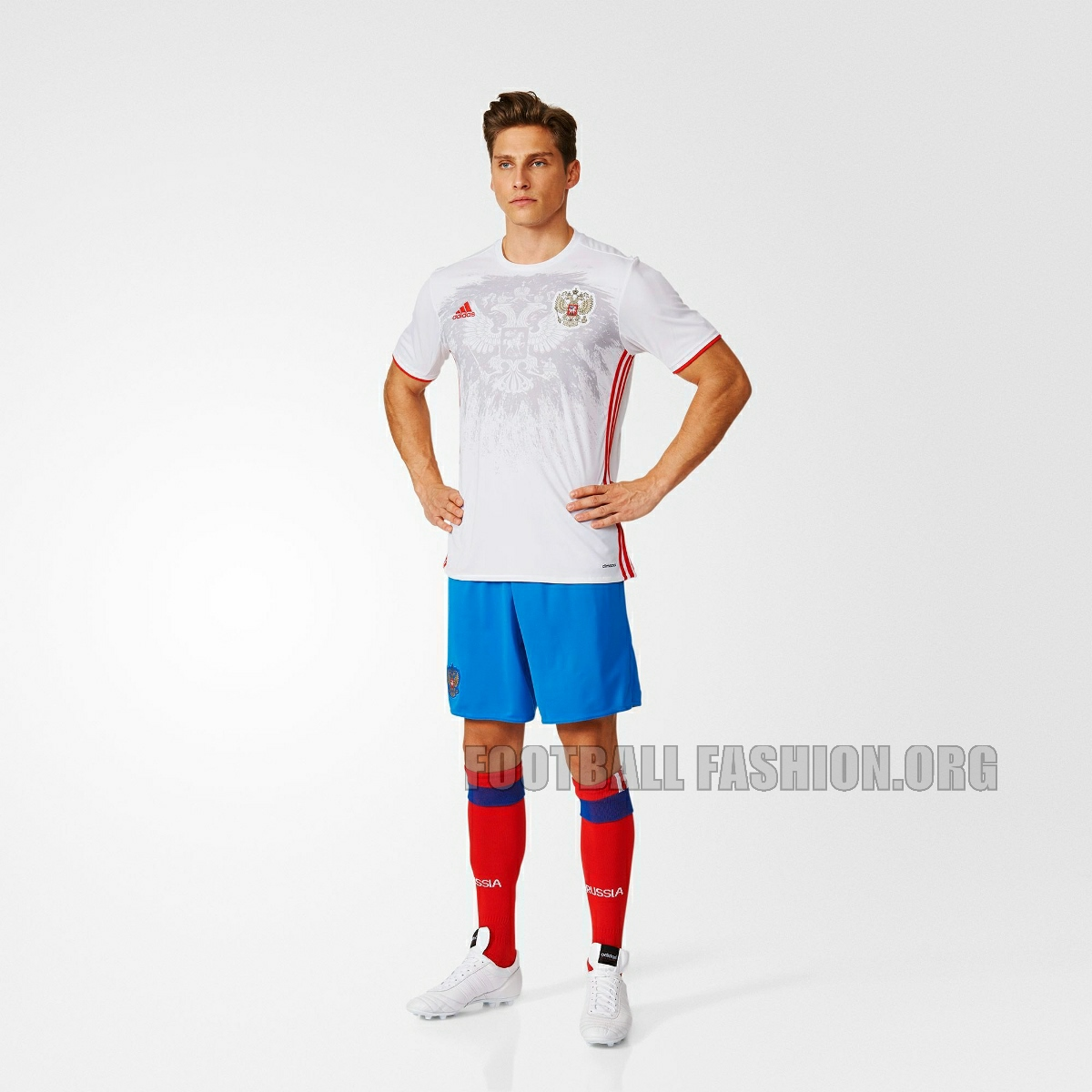 size 40 998ad 4ab79 Russia EURO 2016 adidas Home and Away Kits - FOOTBALL ...