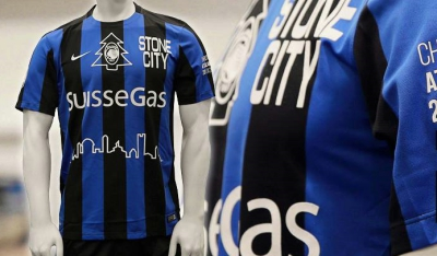 Atalanta 2015 Nike Christmas Natale Football Kit / Soccer Jersey / Maglia / Gara
