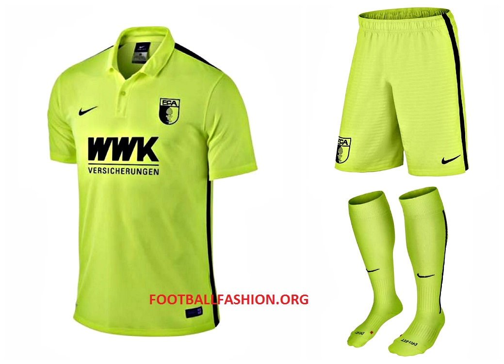"""a873a9d04 FC Augsburg 2015 16 Nike """"Special"""" Kit – FOOTBALL FASHION.ORG"""