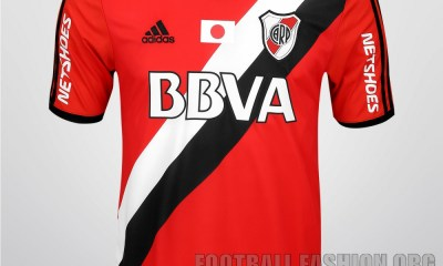 River Plate 2015 FIFA World Club Cup adidas Soccer Jersey, Football Kit, Shirt, Camiseta Alternativa Copa Mundial Japon