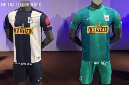 Club Alianza Lima 2016 Nike Home and Away Football Kit, Soccer Jersey, Shirt, Camiseta de Futbol