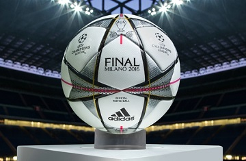 adidas Finale Milano - 2016 UEFA Champions League Knockout Stages and Final Match Ball