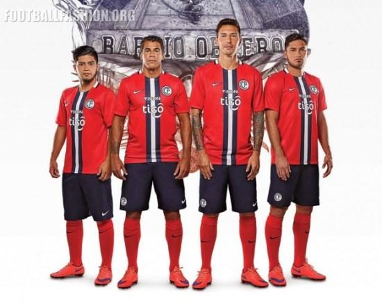 Cerro Porteño 2016 Nike Home Football Kit, Soccer Jersey, Shirt, Camiseta de Futbol