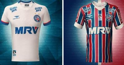 EC Bahia 85th Anniversary 2016 Penalty Soccer Jersey, Football Kit, Shirt, Camisa 85 anos