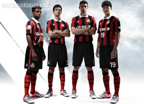 FC Seoul le coq sportif 2016 Home Football Kit, Soccer Jersey, Shirt, AFC Champions League