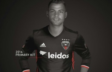 DC United 2016 adidas Home Soccer Jersey, Football Kit, Shirt, Camiseta de Futbol