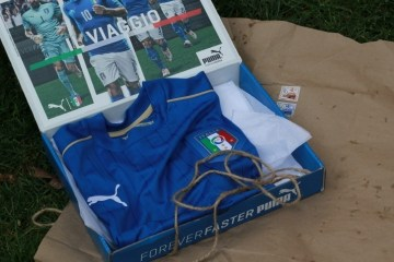 Unboxing the Italy EURO 2016 PUMA Blue Home Football Kit, Soccer Jersey, Shirt, Gara, Maglia, Camiseta