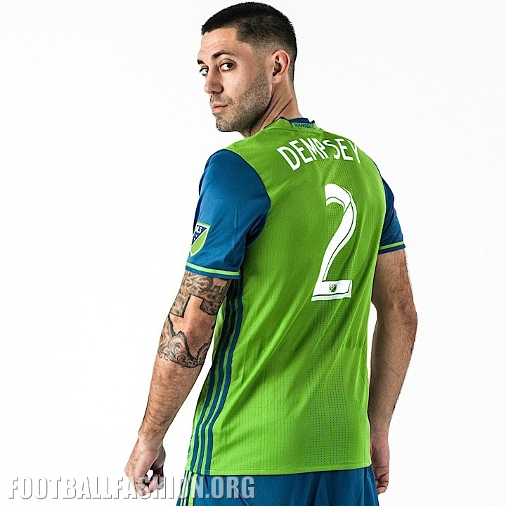 lowest price 2c85f 69318 Seattle Sounders 2016 adidas Home and Third Jerseys ...