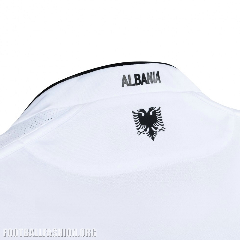 Albania will debut their white 2016 17 Macron away uniform when they meet  Austria in an international friendly in Vienna on March 26. All three kits  will ... 352deaf11