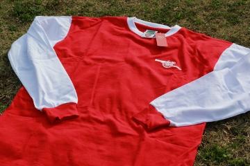 Up-Close: Arsenal FC 1971 Home Football Kit, Shirt, Soccer Jersey