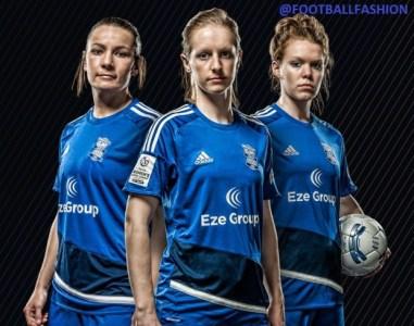 Birmingham City FC Ladies 2016 adidas Home and Away Football Kit, Soccer Jersey, Shirt