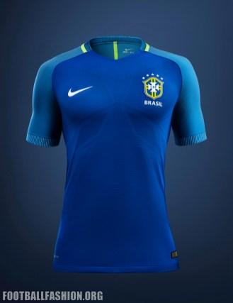 Brazil 2016 Copa América Home and Away Football Kit, Soccer Jerse, Shirt. Camiseta de Futbol, Camisa do Futebol 2017