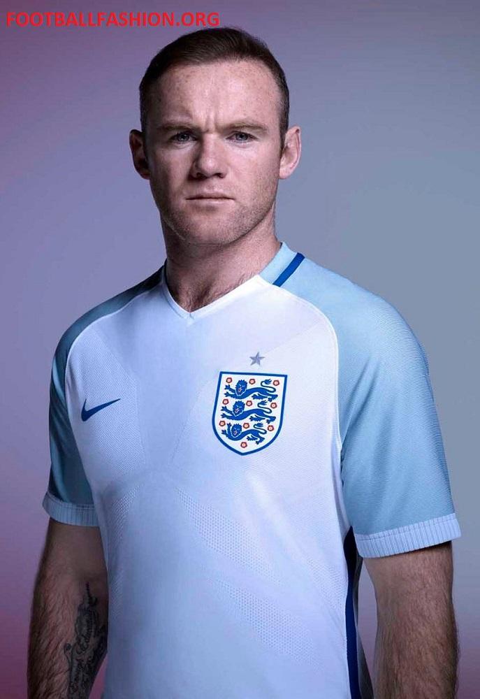 England Euro 2016 Nike Home And Away Kits Football