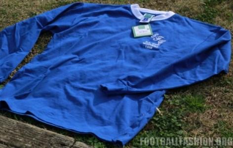 Up-Close: Everton 1966 FA Cup Winners Shirt, Football Kit, Shirt