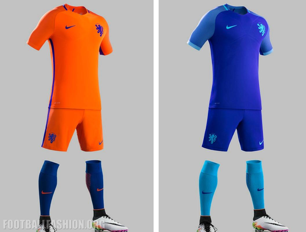 check out 0e6a5 b4e64 Netherlands 2016/17 Nike Home and Away Kits - FOOTBALL ...
