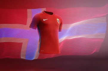 Norway 2016 2017 Nike Home and Away Football Kit, Soccer Jersey, Shirt, Landslagsdrakt