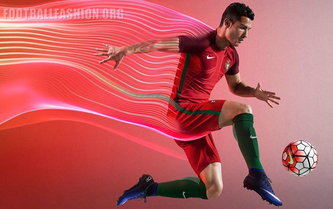 395e22f56 Portugal EURO 2016 Nike Home and Away Kits - FOOTBALL FASHION.ORG