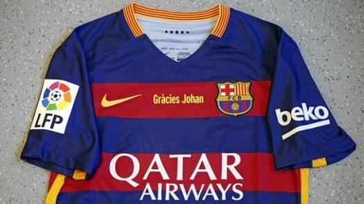 FC Barcelona to Wear Special Johan Cruyff Jersey for El Clásico