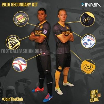 Fort Lauderdale Strikers 2016 Inaria Home and Away Football Kit, Soccer Jersey, Shirt, Camiseta de Futbol, Camisa