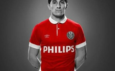 PSV Eindhoven 2016 Umbro Heritage Football Kit, Soccer Jersey, Shirt, Tenue