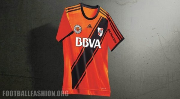 River Plate 2016 adidas Special Edition Orange Jersey – FOOTBALL ... 8b2328194