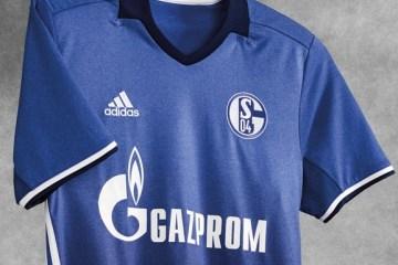Schalke 04 2016 2017 2018 adidas Home Football Kit, Soccer Jersey, Shirt, Trikot