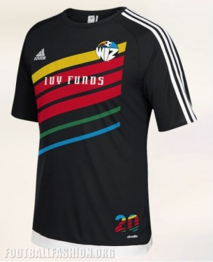 Sporting KC 20th Anniversary Night Retro Training Kit, Soccer Jersey, Shirt