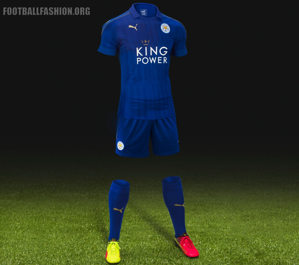 Leicester City Fc Home Shirt
