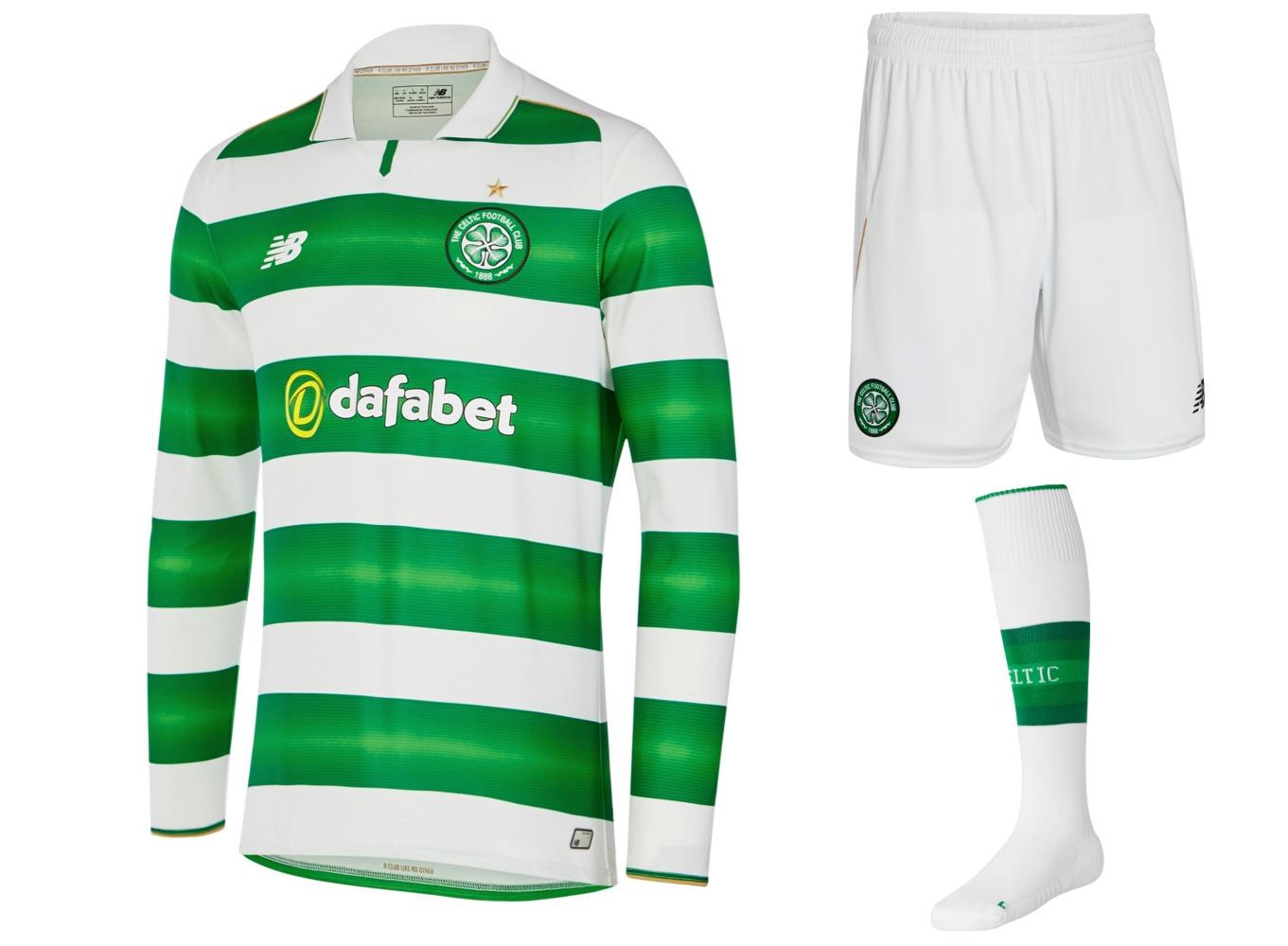 Celtic FC 2016/17 New Balance Home Kit – FOOTBALL FASHION.ORG