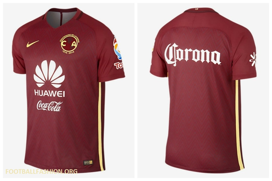 separation shoes 471d8 b8405 Club América 2016/17 Nike Away Jersey - FOOTBALL FASHION.ORG