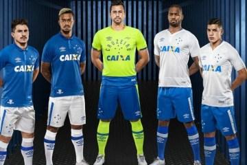 Cruzeiro 2016 2017 Umbro Home and Away Football Kit, Soccer Jersey, Shirt, Camisa do Futebol