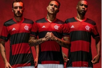 lamengo 2016 2017 adidas Home Football Kit, Shirt, Soccer Jersey, Camisa do Futebol