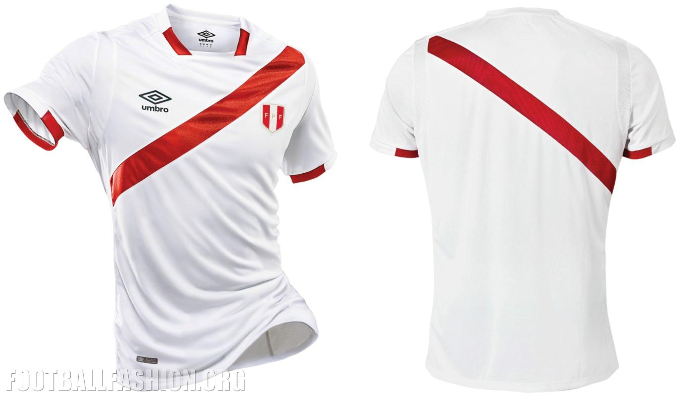 new product 2668c 8d1dc Peru 2016 Copa América Centenario Umbro Home Jersey ...