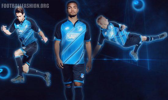 TSG 1899 Hoffenheim 2016 2017 Lotto Home Football Kit, Soccer Jersey, Shirt, Heimtrikot, Trokot