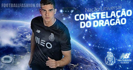 FC Porto 2016 2017 New Balance Away Football Kit, Soccer Jersey, Shirt, Camisa, Camisola, equipamento alternativo