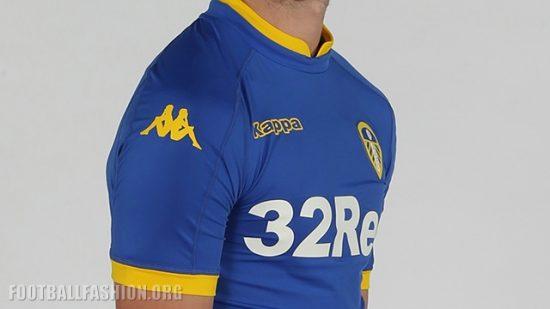 Leeds United 2016 2017 Kappa Away Football Kit, Soccer Jersey, Shirt