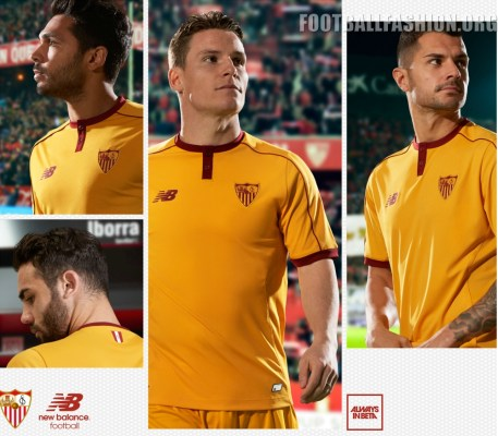 Sevilla Fc 2016 17 New Balance Third Kit Jersey