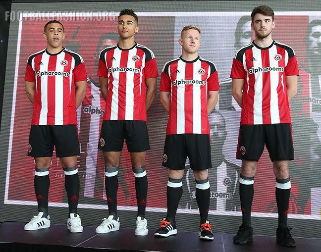 Sheffield United FC 2016/17 adidas Home Kit - FOOTBALL ...
