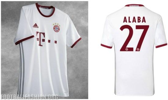 low priced b0f1c 58039 FC Bayern München 2016/17 adidas Champions League Kit ...