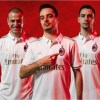 AC Milan 2016 2017 White adidas Away Football Kit, Soccer Jersey, Shirt, Gara. Maglia, Camiseta, Maillot