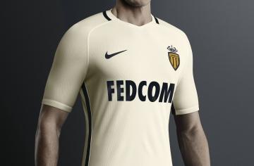 AS Monaco 2016 2017 Nike Away Football Kit, Soccer Jersey, Shirt, Maillot