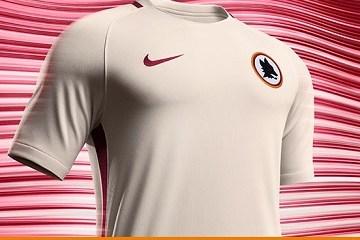 AS Roma 2016 2017 Nike Away Soccer Jersey, Shirt, Football Kit, Gara, Maglia, Camiseta, Camisa