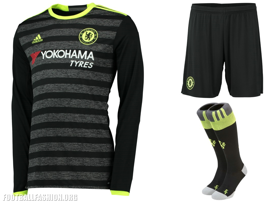 a5c271b4f Chelsea FC 2016 17 adidas Away Kit – Inspired by the Streets ...