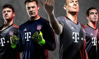 FC Bayern München 2016 2017 adidas Away Football Kit, Soccer Jersey, Shirt, Auswärts Trikot