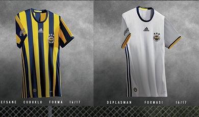 Fenerbache SK 2016 2017 adidas Home, Away, Third Football Kit, Soccer Jersey, Formalar, Formasi