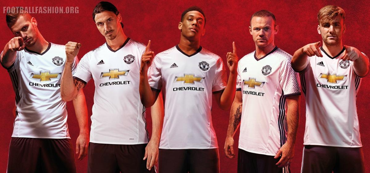 brand new 2dd78 f0a11 Manchester United 2016/17 adidas Third Kit - FOOTBALL ...